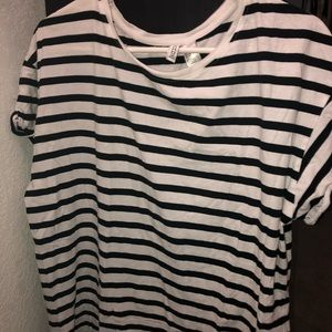 H&M Oversized Striped Top